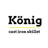 กระทะเหล็กหล่อ กระทะจานร้อน อุปกรณ์เครื่องครัว König